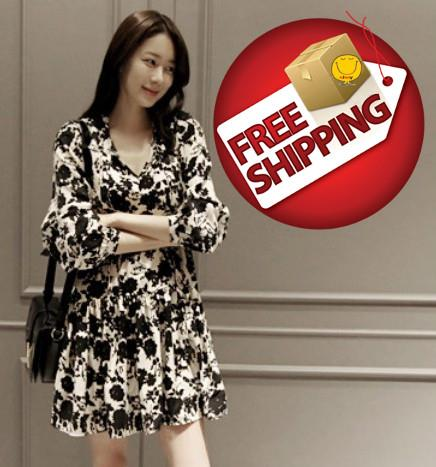 Awesome NJooy Korean Woman Sexy Travel Holiday Dress CodeT01WD6575LI Penang