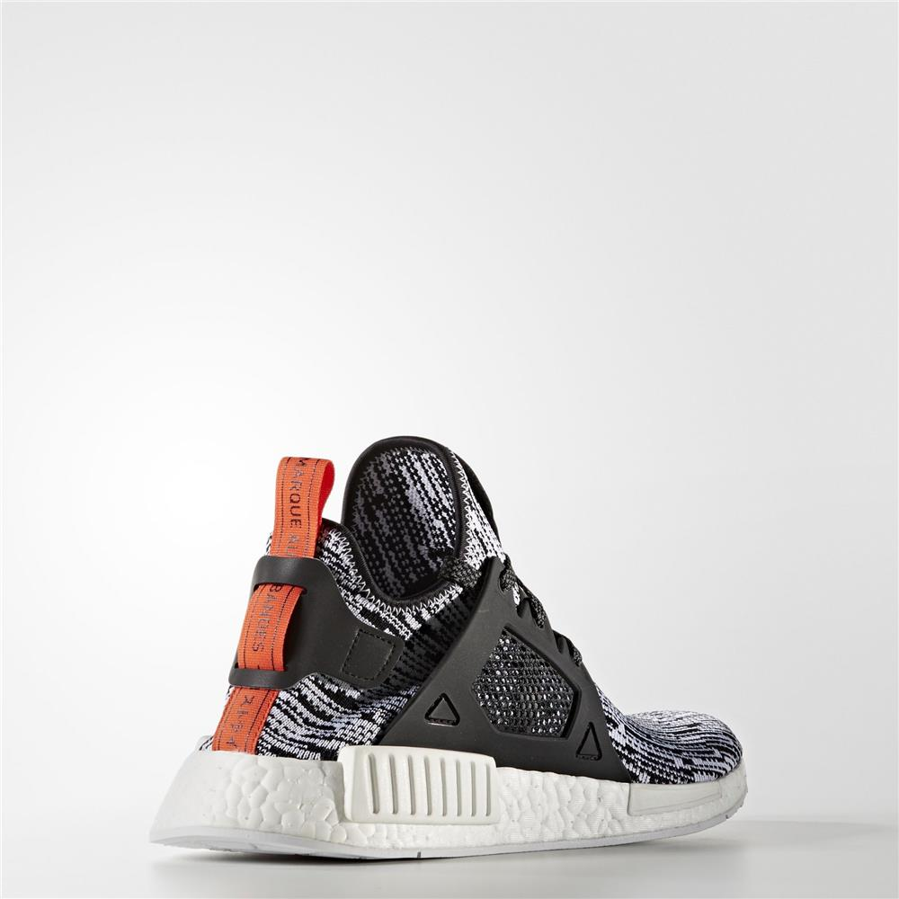 NMD_XR1 PRIMEKNIT SHOES White/Core Black/Semi Solar Red