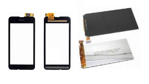Nokia Lumia 530 Display Lcd / Touch Screen Digitizer Nokia530 Services