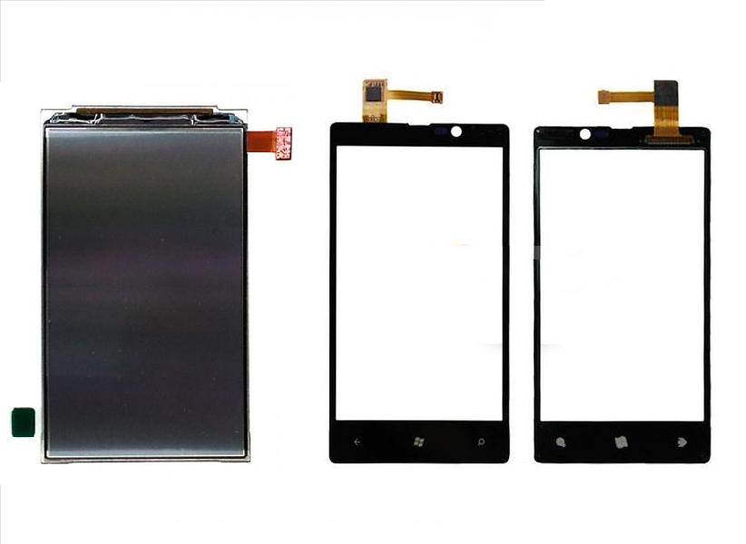 Nokia Lumia 820 Lumia820 Display Lcd / Digitizer Touch Glass Screen