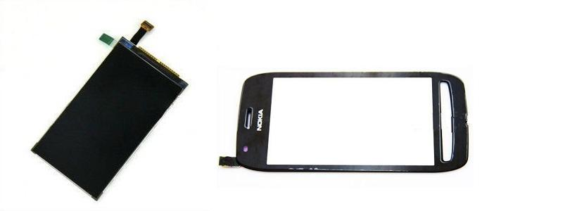 Nokia N701 Lumia 701 Display LCD / Digitizer Touch Screen