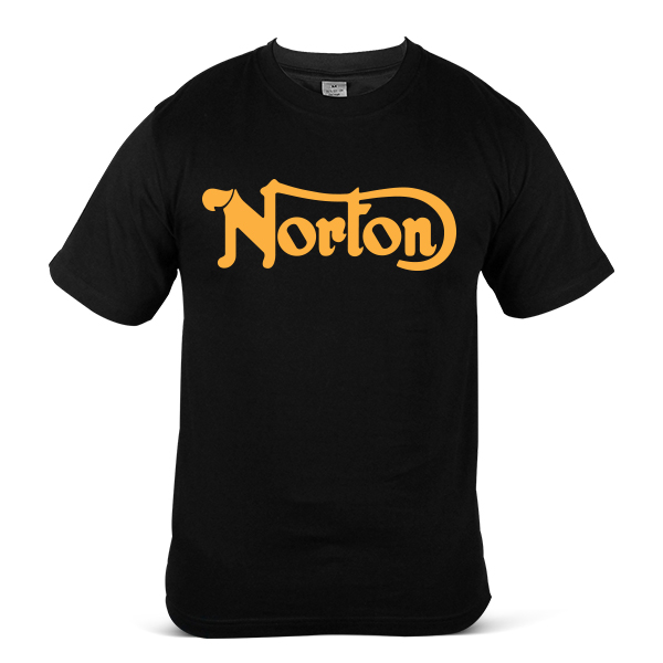 NORTON Logo Motorcycle Motorbike Racing Sport Unisex Casual T-Shirt