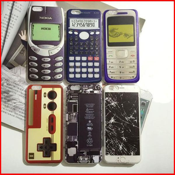 Nostalgic IPhone5/5S/SE/6/6S/​​6Plus/6S Plus childhood ret