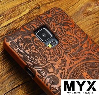 Note 4 Quality Pear Wood Creative Elegant Wooden Casing Case Cover