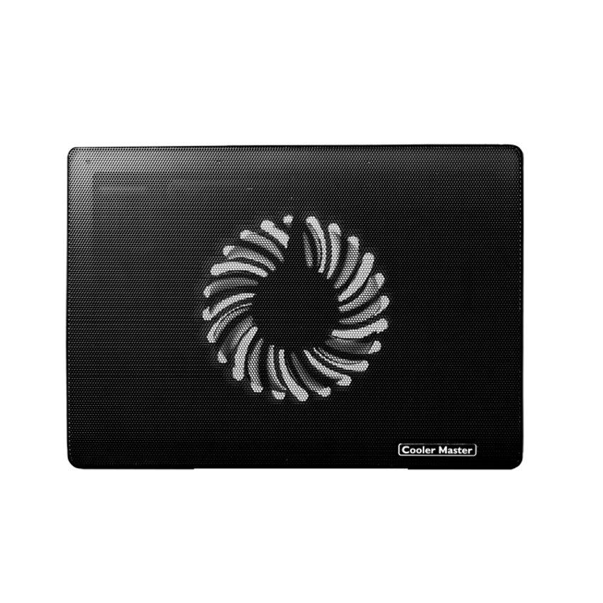 Notepal I100 Silent Fan Laptop Cooling Pad- Black
