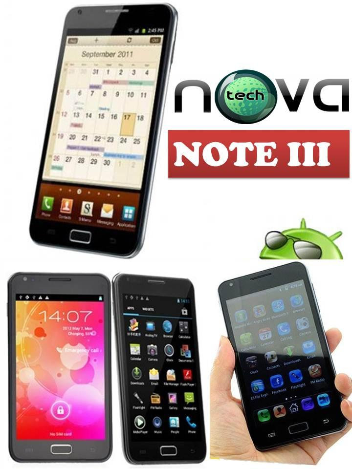 NOVA NOTE III, 5IN TABLET PHONE 1GHZ CPU, 512DDR3. 10 HOURS BATTERY,AN..