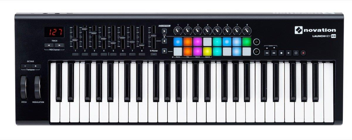 Novation Launchkey 49 MK2 USB Keyboard Controller for Ableton Live