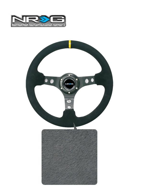 NRG Steering 14' Wheel Fabric (BK)