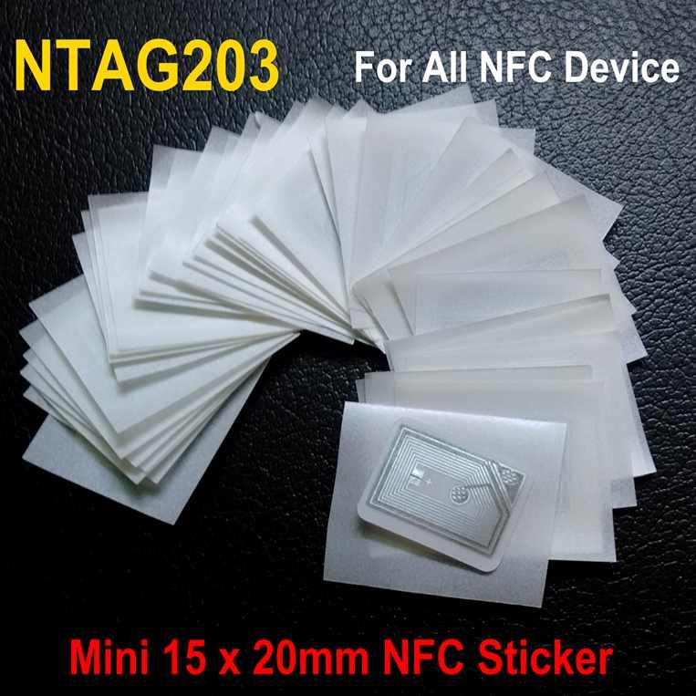 NTAG203 Mini NFC Sticker For All NFC Device Samsung Note3