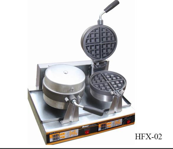 Nuevo HFX-02 Commercial Rotary Waffle Baker Machine (2-Plate)