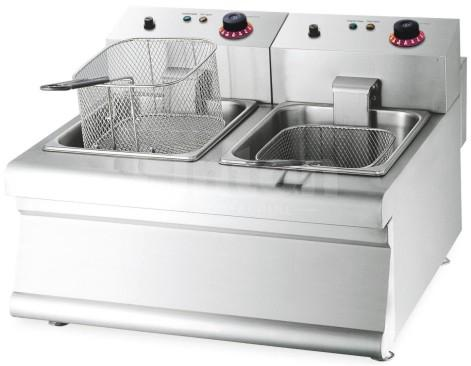 Nuevo TEF-8+8 Commercial Counter-Top Electric Fryer
