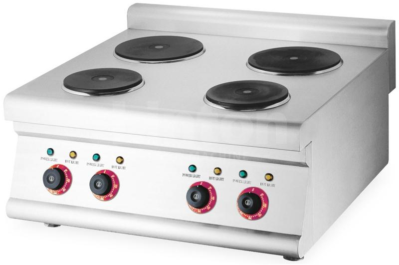 Nuevo TZ-4 Commercial Counter-Top Electric 4-Plate Cooker