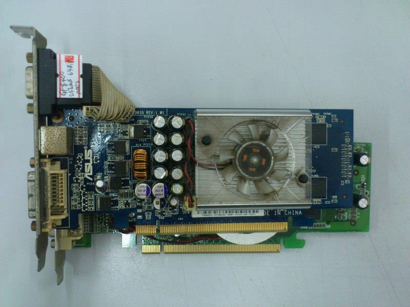 Nvidia GeForce 8400 256MB DDR2 PCI-E Graphic Card 290116
