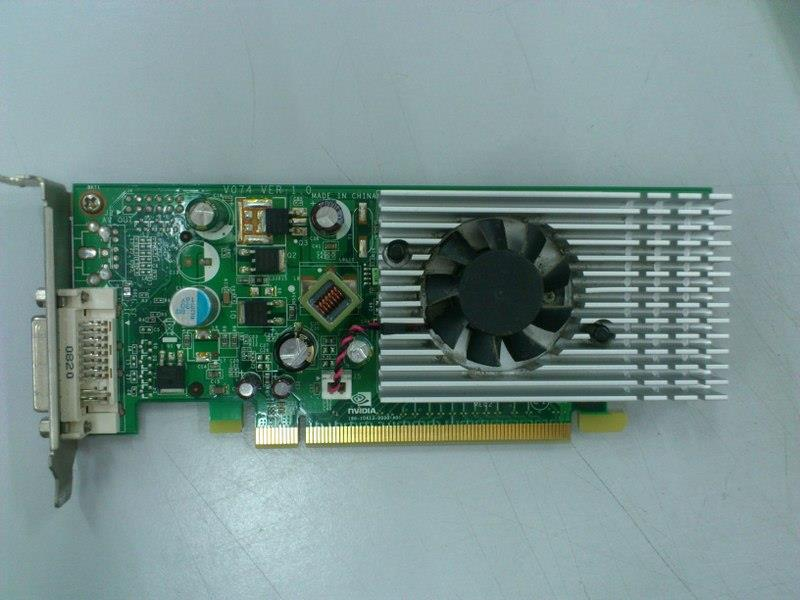 Nvidia GeForce 8400 256MB DDR2 PCIe Graphic Card for SFF Casing 290116