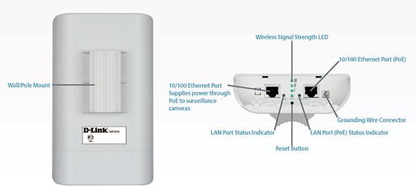 NW. D-LINK ACCESS POINT WIFI N300 OUTDOOR W/ POE DAP-3310