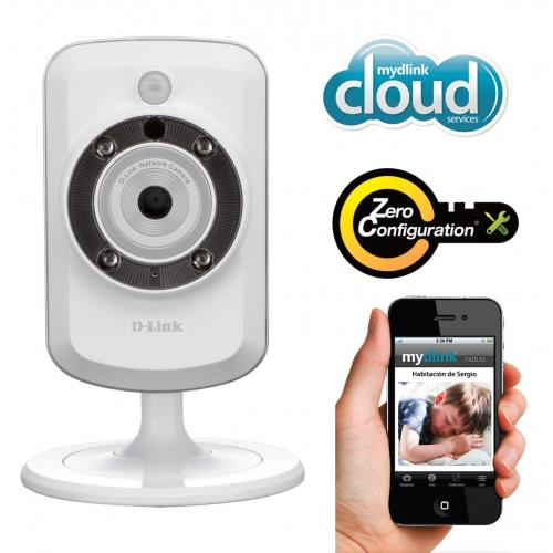 NW. D-LINK IP CAMERA WIRELESS N WITH IR/EXTENDER DCS-933L