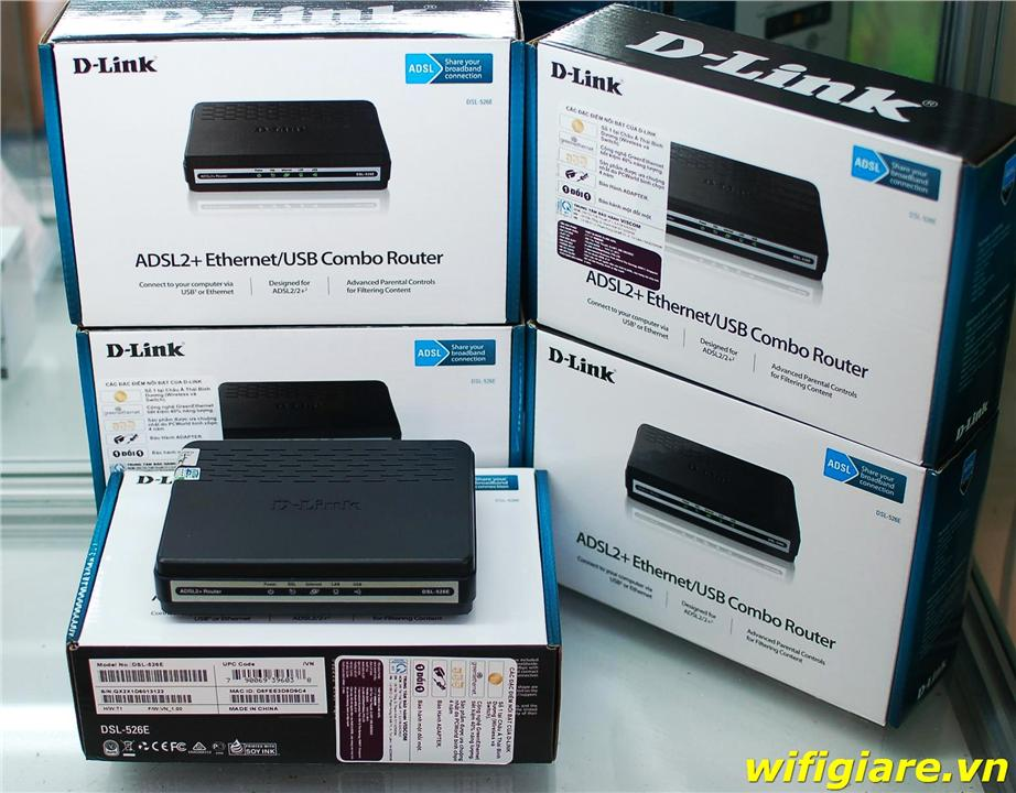 NW. D-LINK MODEM ROUTER 1 PORT WIRED DSL-526E