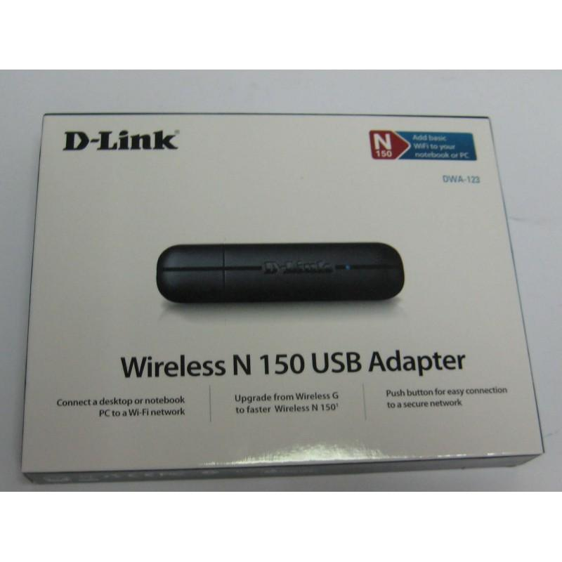NW. D-LINK WIFI USB ADAPTER N150 DWA-123