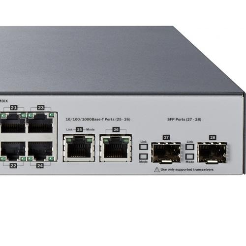 NW. HP ARUBA NETWORK SWITCH L2 MN.24 PORT STD+4 PORT G.2530-24G J9782A