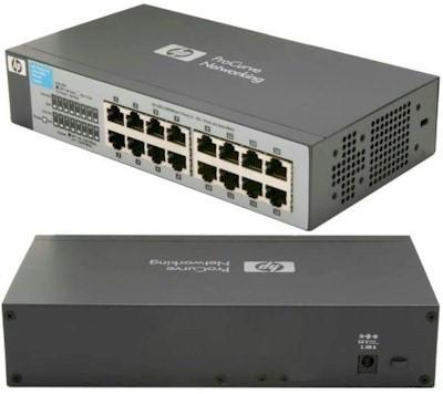 NW. HP NETWORK SWITCH 16 PORT STD V1410-16 J9662A