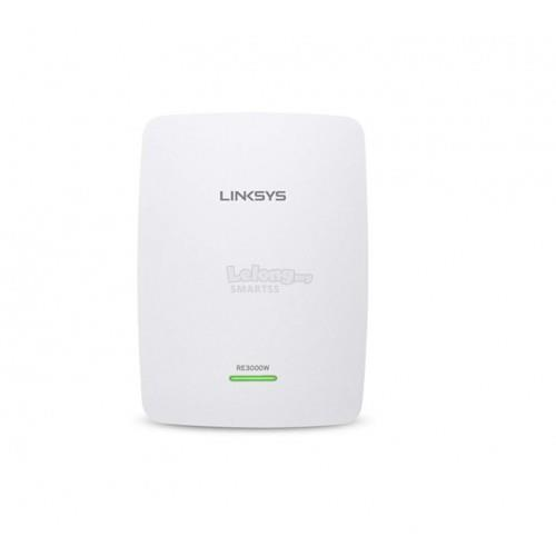 NW. LINKSYS RANGE EXTENDER WIFI N300 DUAL BAND RE4100W-AP