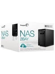 NW. SEAGATE NAS BUSINESS NAS 2 BAYS 0TB WITH ARM 1.2GHZ STCT300