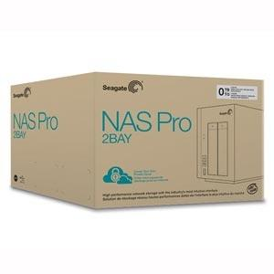 NW. SEAGATE NAS BUSINESS PRO 2 BAYS 0TB WITH 1.7GHZ DUAL CORE STDD300