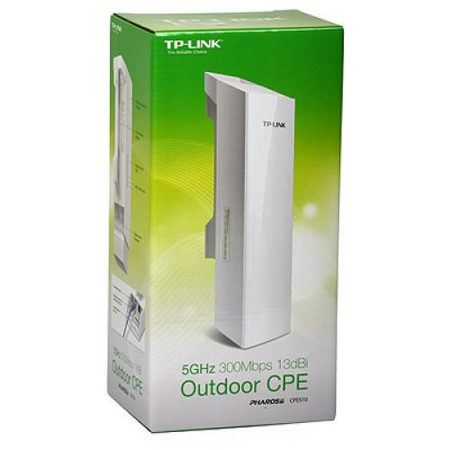 NW TP-LINK ACCESS POINT WIFI N300 13DBI OUTDOOR CPE 5.0GHZ CPE510