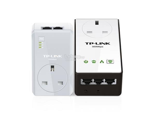 NW. TP-LINK HOME PLUG WIFI WIRELESS N300 AV500 W/AC TL-WPA4230P KIT