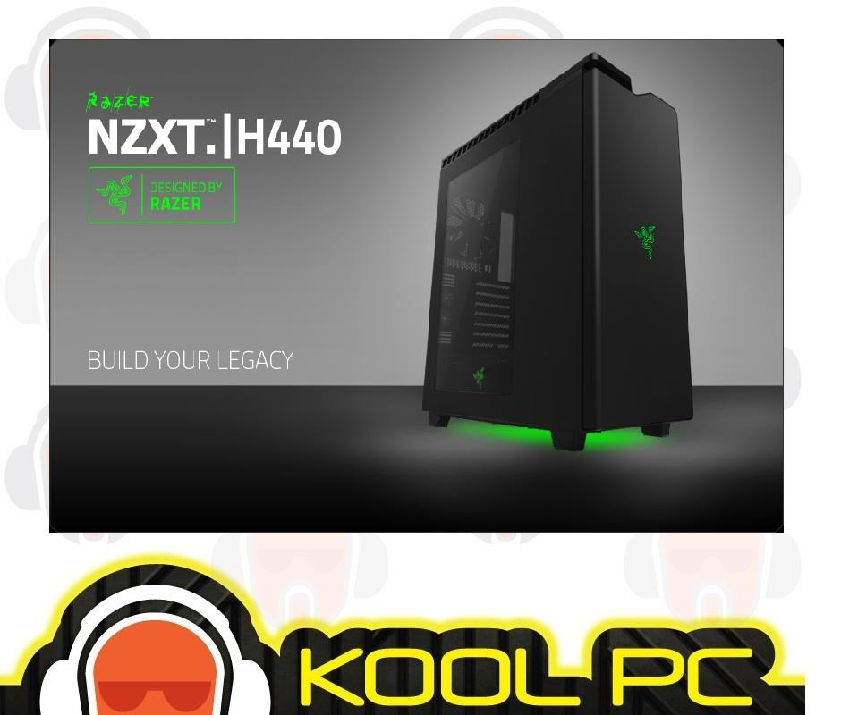 NZXT H440 Razer Edition - Mid Tower