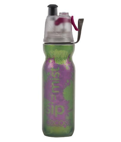 O2COOL INSULATED ARCTICSQUEEZE MIST 'N SIP - 20OZ. SPLASH - GREEN
