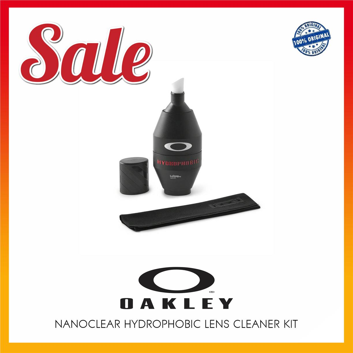 Oakley 07-622 Nanoclear Hydrophobic Lens Cleaner Kit / Clean Glasses