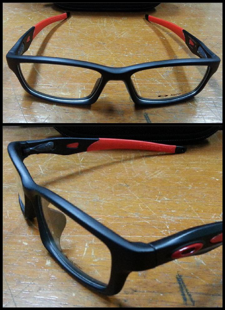 oakley crosslink sweep temples