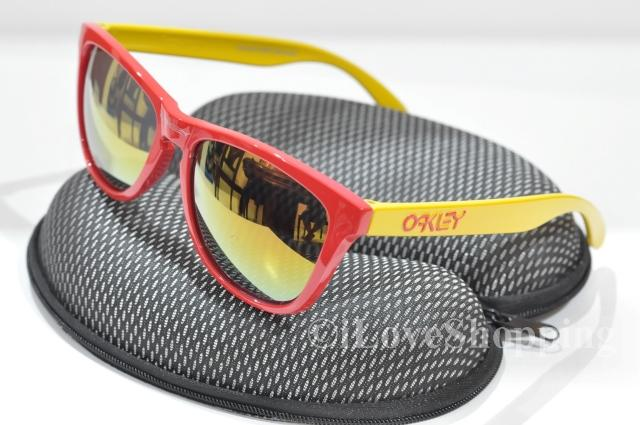 OAKLEY FROGSKINS~Limited Edition (SPAIN)~FREE OAKLEY Hard Case~IOK888