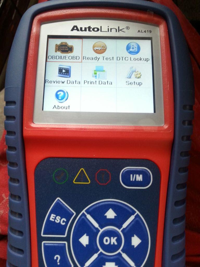 OBD2 Diagnostic Scan Tools Autel AL419