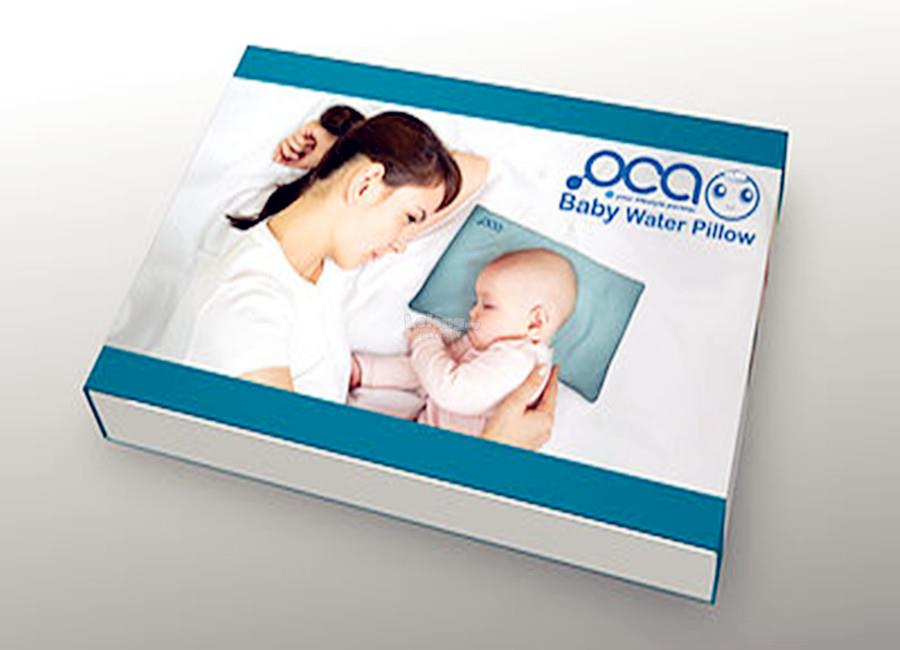 OCA Baby Water Pillow-Pillow Case Included