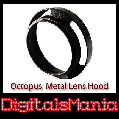 Octopus 49mm OC-LH01 Metal Lens Hood For Sony 50mm f1.8 Lens