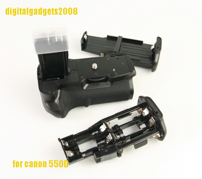 Octopus Battery Grip BG-E8 DSLR Canon 550D 600D 650D 700D + 1 LP-E8