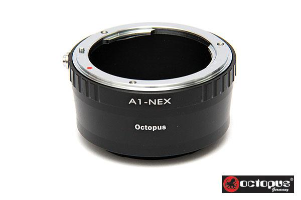 Octopus Nikon D to Sony NEX E Mount Series Lens Adapter - Nex 5N 5R 3N