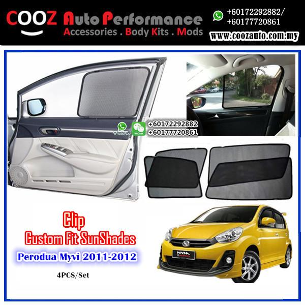 OEM FITTING SUN SHADE SUNSHADE  PERODUA MYVI LAGI BEST 2011-2013