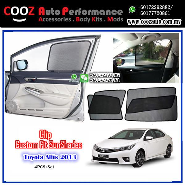 OEM FITTING SUN SHADE SUNSHADE TOYOTA ALTIS 2013