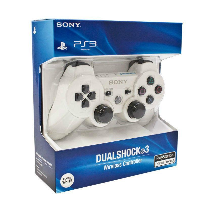 OEM ) PS3 Dual Shock 3 wireless controller White (end 5/13/2016 6 ...