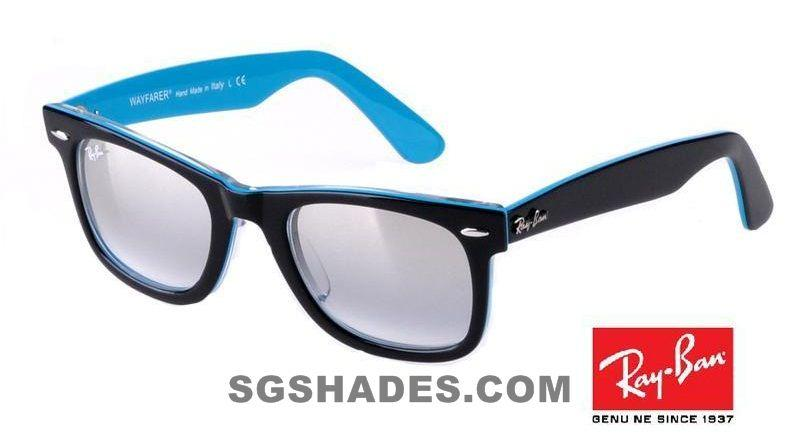 Black And Blue Ray Bans