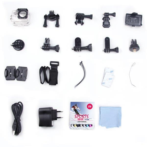 OEM SJCAM SJ4000 WiFi Full HD Waterproof Action Camera + 16GB Card