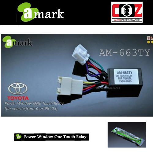 OEM WINDOW ONE TOUCH RELAY TOYOTA ALTIS 2001-2005