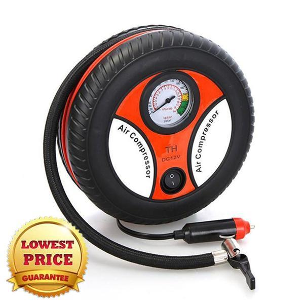 OFFER 12V Portable Auto Car Pump Tire Tyre Inflator Air Compressor