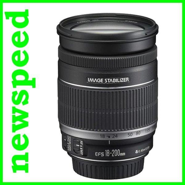 OFFER Canon EF-S 18-200mm F3.5-5.6 IS Lens (Import)