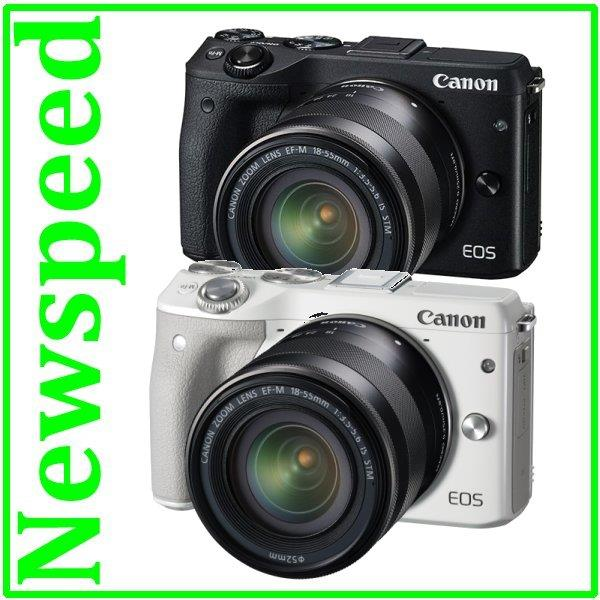 OFFER Canon EOS M3 18-55mm IS STM Lens Kit +8GB+Case (Canon MSIA)