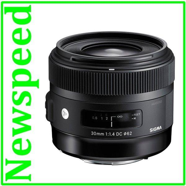 Offer New Canon Mount Sigma 30mm F1.4 DC HSM Art Lens (New version)