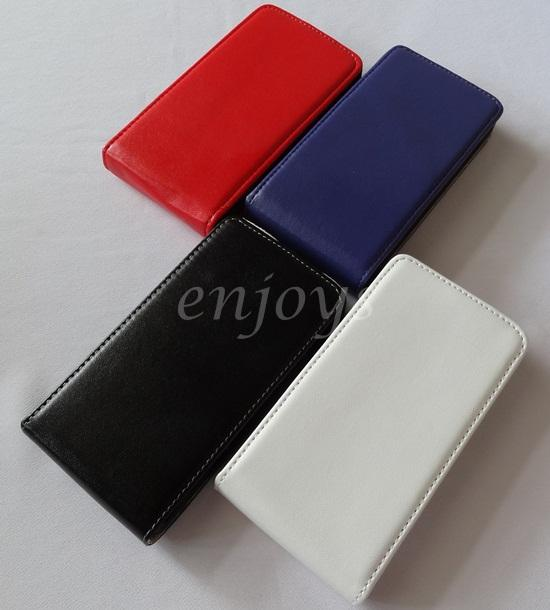 OFFER** Colorful Leather Flip Pouch for Samsung i8700 Omnia 7 ~4Colors